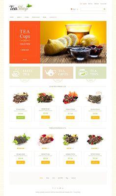 WooCommerce Website Template #tea http://www.templatemonster.com/woocommerce-themes/47752.html?utm_source=PinterestM&utm_medium=Timeline&utm_campaign=tearhh