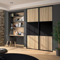 Office Interior Design, Office Interiors, Kids Bedroom Storage, Studio Shed, Tiny House Loft, Wardrobe Design Bedroom, Shelving Design, Home Salon, Home Staging
