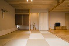 Japanese Home Design, Traditional Japanese House, Japanese Modern, Japan Apartment, Japan Room, Washitsu, Home Office, House Design, Living Room