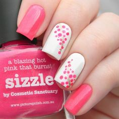 Polka dots nail art designs are easy to do, anyone can create cool and unique designs without spending  hours in salon every time. Here are cute, quirky, and inc