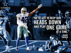 #BarryChurch #DallasCowboys