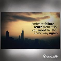 It's okay to fail. #BoardwalkPH #Inspirations #Quotes instagram@BoardwalkPH www.facebook.com/BoardwalkPH www.twitter.com/BoardwalkPH