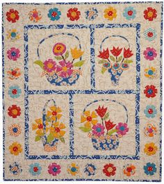 May Baskets quilt at Piece O Cake Designs.  2011.