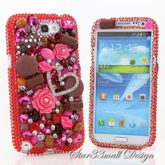 Samsung Galaxy Note 2 3 S3 S4 S5 iPhone 5 5S 5C by Star33mall