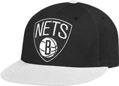 NBA Brooklyn Nets Flat Brim Flex Fit Wool Hat 0c3733e1e4a
