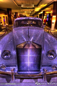4000 Topaz Stones Cover This Rolls Royce In The Fairmont Hotel, Monaco!!!...
