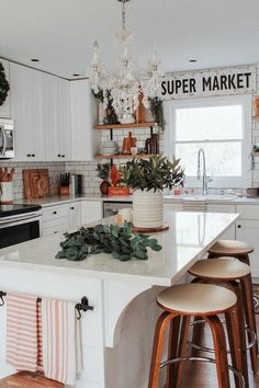 If you are looking for Bohemian Style Kitchen Decor Ideas, You come to the right place. Below are the Bohemian Style Kitchen Decor Ideas. This post ab. Kitchen Decorating, Home Decor Kitchen, Kitchen Interior, Home Kitchens, Bohemian Kitchen Decor, Decorating Ideas, Bohemian Decor, Kitchen Ideas, Decor Ideas