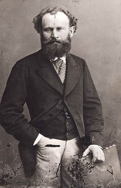 Edouard Manet by truity1967, via Flickr  Discover the coolest shows in New York at www.artexperience...