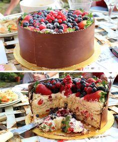 Cake berries