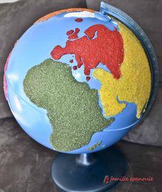 Le globe Montessori est sensoriel et visuel. Vos enfants vont adorer le manipuler. Nous vous expliquons comment le fabriquer et l'utiliser dans les jeux !