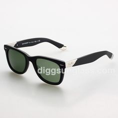 6bece5259f722 Ray Ban Men s 1 1 Grade Green Sunglasses in Black Frame Ray Ban Sunglasses  Outlet