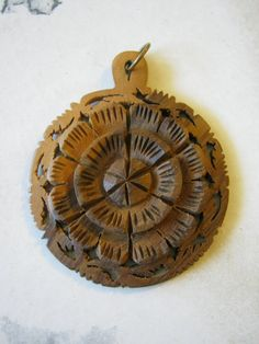 Cedar Pendant by janissupplies on Etsy, $5.50