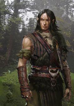 The Witcher Gwent Card Art Elf Characters, Dungeons And Dragons Characters, D&d Dungeons And Dragons, Fantasy Characters, Fantasy Male, Fantasy Rpg, Medieval Fantasy, Dark Fantasy, Ranger Dnd