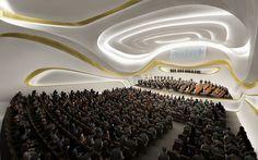 Nanjing Youth Olympic Center Zaha Hadid  #Hadid #Zaha Pinned by www.modlar.com