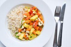 Ananas Curry, Perfecte Peutermaaltijd #3