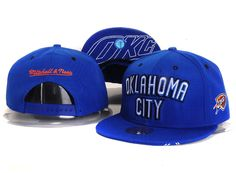 Mitchell And Ness Oklahoma City Thunder Snapback Blue