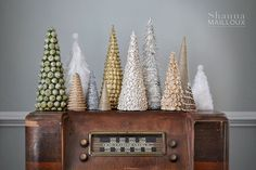 Instructions for making these Christmas trees ~ parts 1-2-3.