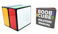 Boob Cube Is A Puzzle For Rubiks Cube Idiots Like Me & You -  #puzzle #rubiks #stupid