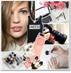 """""""Say cheese!"""" by de-si-ree ❤ liked on Polyvore"""