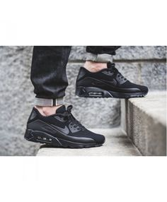 new arrival ed1d7 e5943 Nike Air Max 90 Ultra Moire Blackout Sale UK Work is very trendy, very  breathable and jumping ability, come and buy!