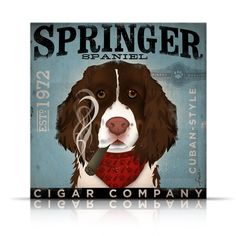Springer Spaniel cigar company