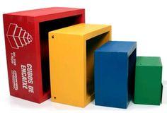 Cubos de Encaixe - Brinquedos Educativos | Casa da Educação
