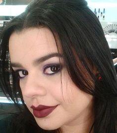 A @luanamchaves, do Beauty Team da NYX Teresina, apostou no Matte Lipstick Siren para começar essa semana