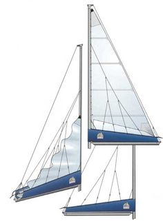 Doyle StackPack with its integral sailcover and lazy jack system neatly flakes the sail as it is lowered and reefed