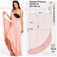 Transformer summer dress pattern # sewing # pattern # summer dress - New Sites Sundress Pattern, Dress Sewing Patterns, Clothing Patterns, Pattern Sewing, Fashion Sewing, Diy Fashion, Fashion Dresses, Maxi Dresses, Strapless Dress