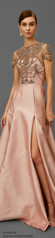 Marchesa Pre-Fall 2016 Fashion Show Evening Dresses, Prom Dresses, Wedding Dresses, Dresses 2016, Bridesmaid Dress, Sexy Dresses, Beautiful Gowns, Beautiful Outfits, Couture Fashion