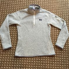 Patagonia Better Sweater Gray pullover style. Womens size small. EUC. Patagonia Jackets & Coats