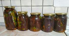 Eggplant, Pickles, Cucumber, Mason Jars, Vegetables, Blog, Recipes, Recipies, Eggplants