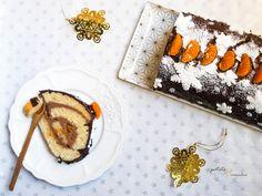 Patate et cornichon : bûche de Noël Vegan Recipes, Vegan Food, Yummy Recipes, Dessert, Birthdays, Yummy Food, Baking, Ethnic Recipes, Sweet