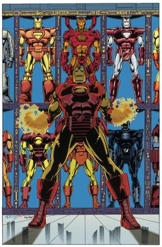 Iron Man Hall of Armors