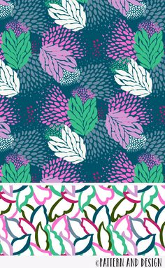 Learn to create surface pattern designs A surface pattern design from the Pattern and Design Studio Boho Pattern, Vintage Pattern Design, Pattern Designs, Kids Patterns, Patterns In Nature, Print Patterns, Floral Patterns, Fabric Patterns, Design Textile