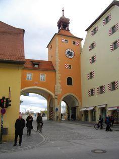 Regensburg, Bavaria, GERMANY.