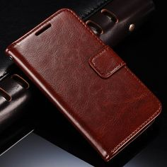 Luxury High Quailty PU leather Case For Samsung Galaxy S4 Mini i9190 Stand Design Book Style. Click visit to buy #WalletCase #Case