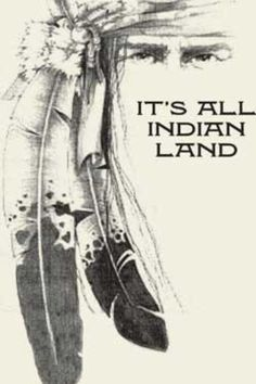 It's all Indian land.Native Americans are the true and original Americans Native American Cherokee, Native American Wisdom, Native American Beauty, American Spirit, American Indian Art, Native American History, American Indians, Cherokee Indians, American Symbols