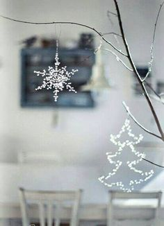 Christmas Ornaments - Christmas mood - window decor