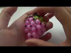 CNY TUTORIAL NO. 20 - Bead Crafts (Mandarin Orange) - YouTube
