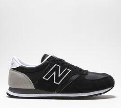 3731797c8162 Dames New Balance (NB) Nylon Zwart Grijs Sneakers