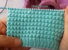 Baby Knitting Patterns, Hand Knitting, Stitch Patterns, Knitted Baby Clothes, Knitting Videos, Baby Sweaters, Crochet Stitches, Fingerless Gloves, Arm Warmers