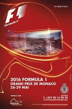 2016 Monaco Grand Prix poster