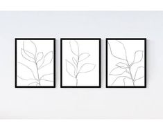Premium Giclee prints created from my own original artwork. Purchase includes the set of three prints as shown. Frames are sized by the image, not overall frame size. Ordering a matted frame will increase your frame size; see item photos for details. - Printed on luxuriously smooth,
