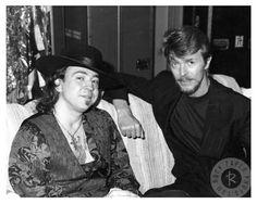 Stevie Ray Vaughn and David