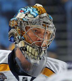 Pekka Rinne #35 of the Nashville Predators