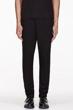 MA JULIUS Black Unisex trousers