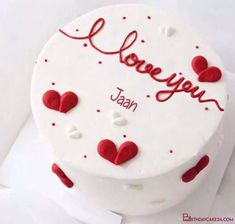 Valentines Cakes And Cupcakes, Valentine Desserts, Valentine Cake, Cupcake Cakes, Pretty Birthday Cakes, Pretty Cakes, Cute Cakes, Yummy Cakes, Cake Birthday