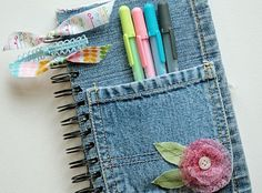 How adorable is this? I bet a teenage girl in your life would love to receive this as a gift. The great thing about this is that you have countless of ways to embellish the journal. You can use charms. You can embroider. You can paint. Really, the possibilities are endless.