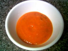 la Madeleine's Tomato Basil Soupe created by @Christina Childress Arpante